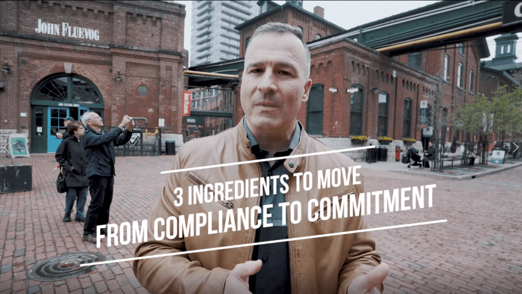Supercharging Change: 3 Ingredients to Shift Compliance to Commitment